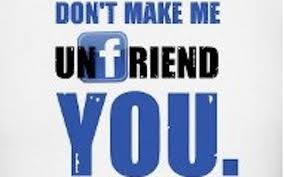 FB unfriend